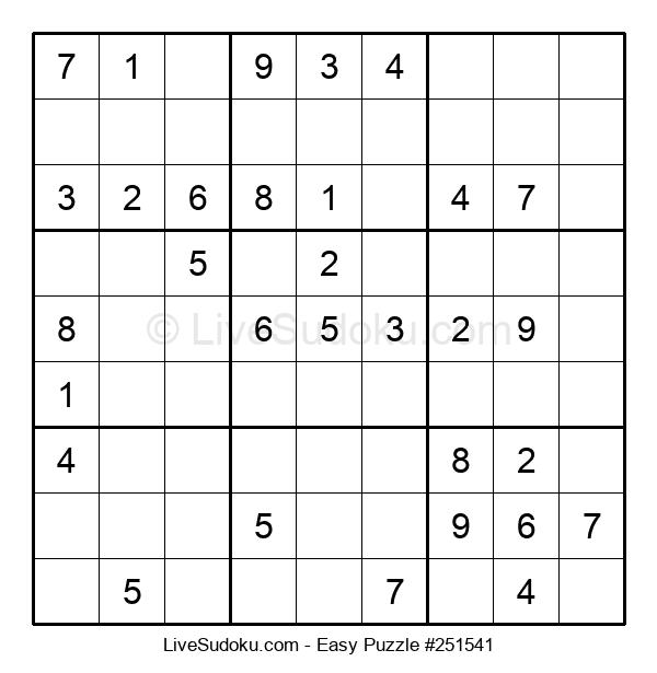 Beginners Puzzle #251541