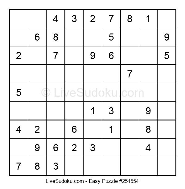Beginners Puzzle #251554