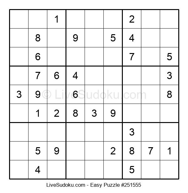 Beginners Puzzle #251555