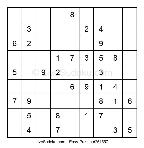 Beginners Puzzle #251557