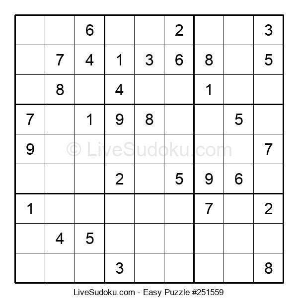 Beginners Puzzle #251559
