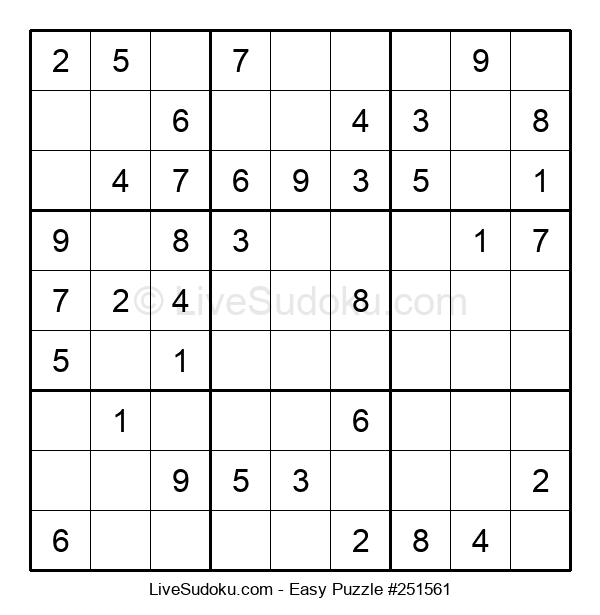 Beginners Puzzle #251561