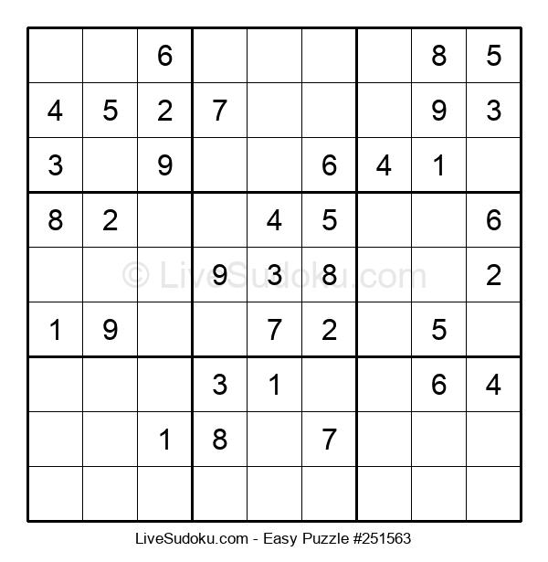 Beginners Puzzle #251563