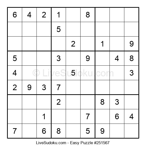 Beginners Puzzle #251567