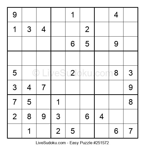Beginners Puzzle #251572