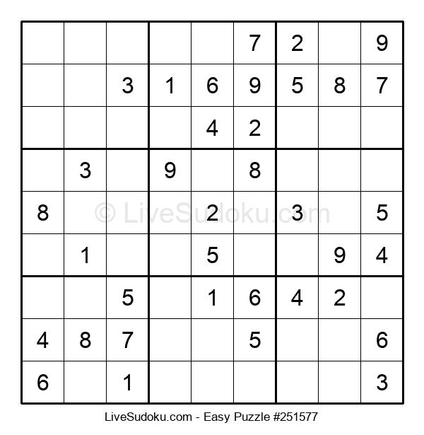 Beginners Puzzle #251577