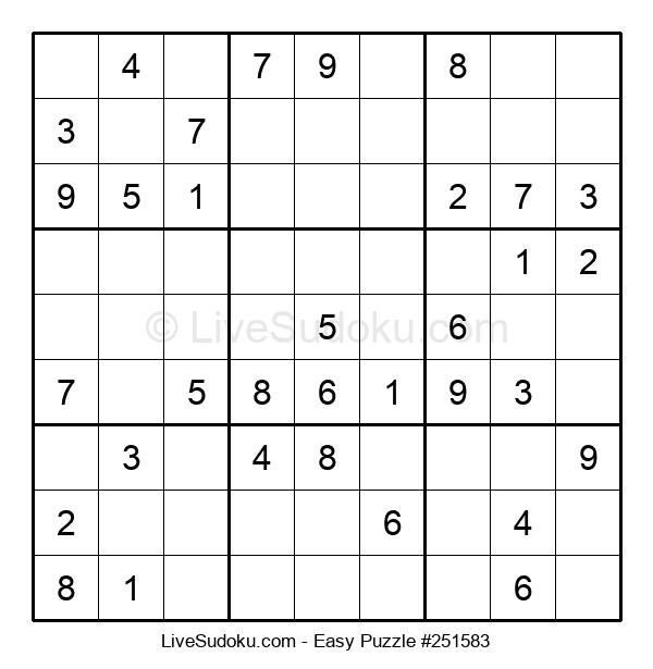 Beginners Puzzle #251583