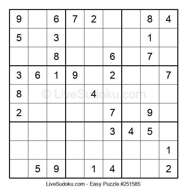 Beginners Puzzle #251585