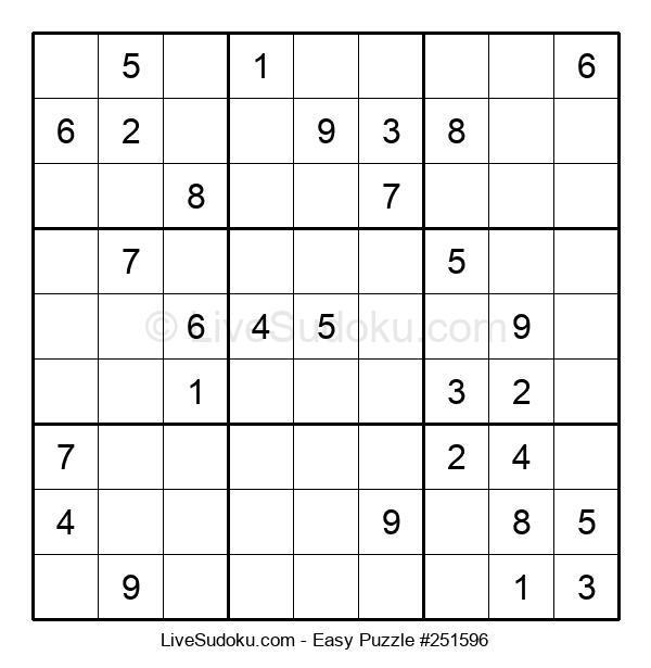 Beginners Puzzle #251596