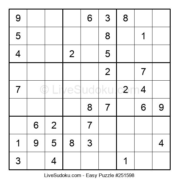 Beginners Puzzle #251598