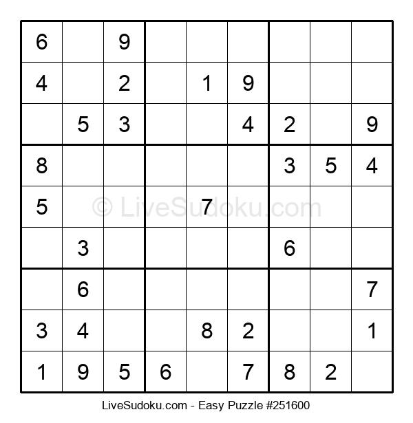 Beginners Puzzle #251600