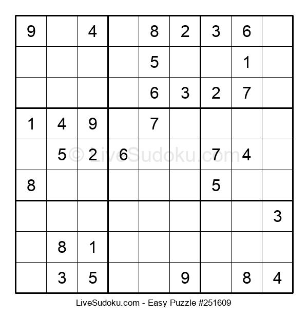 Beginners Puzzle #251609