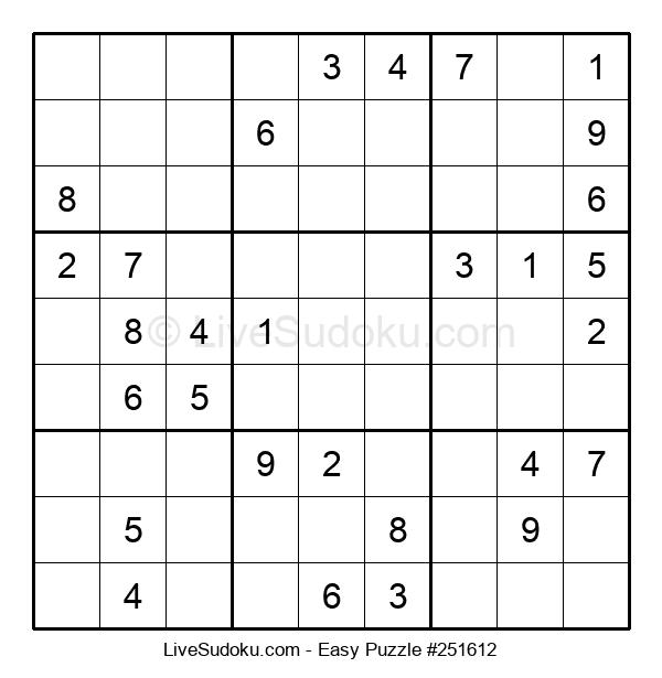 Beginners Puzzle #251612