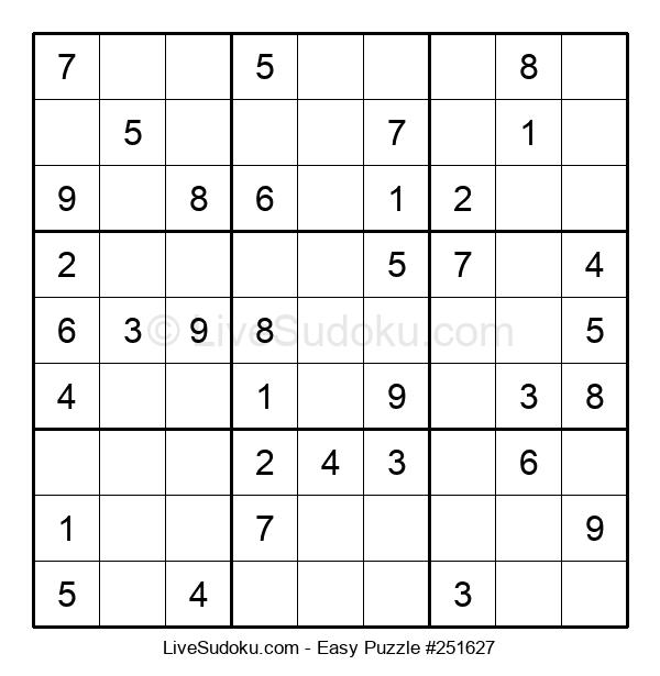 Beginners Puzzle #251627