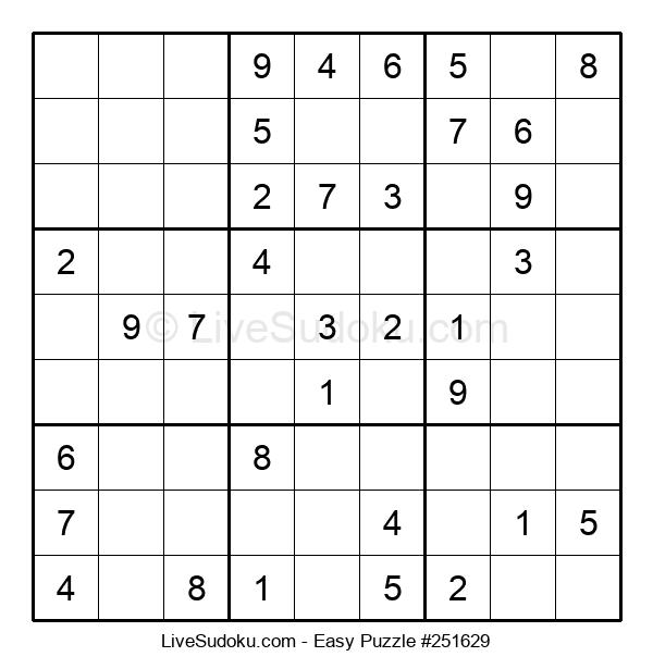 Beginners Puzzle #251629