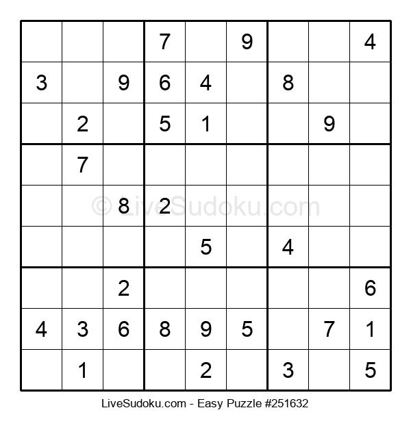 Beginners Puzzle #251632
