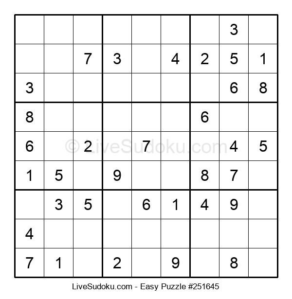 Beginners Puzzle #251645