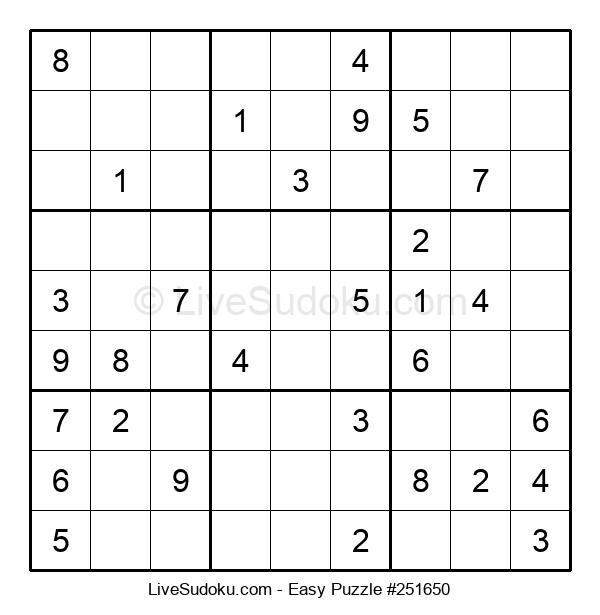 Beginners Puzzle #251650