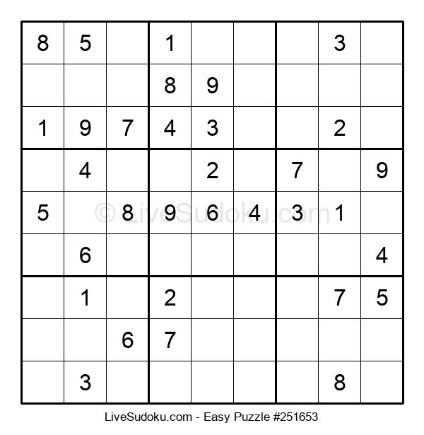 Beginners Puzzle #251653