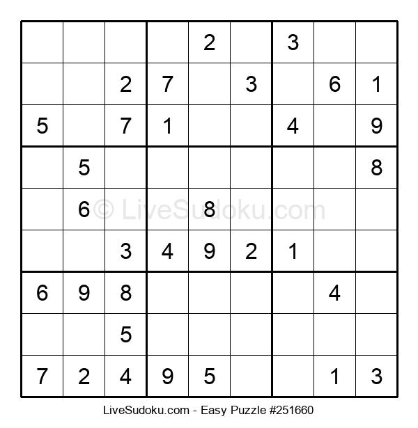 Beginners Puzzle #251660