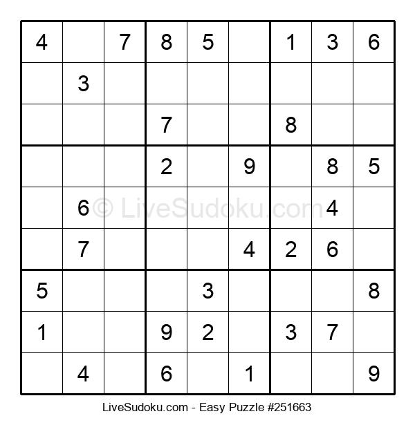 Beginners Puzzle #251663
