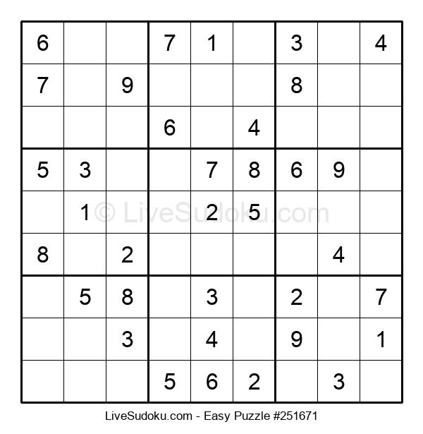 Beginners Puzzle #251671