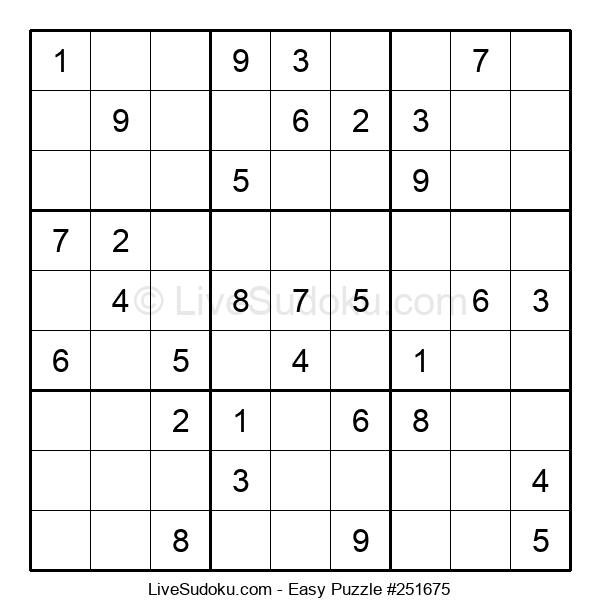 Beginners Puzzle #251675