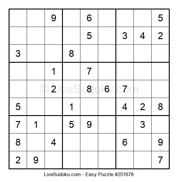 Beginners Puzzle #251678