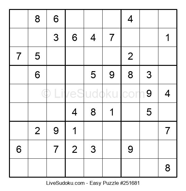 Beginners Puzzle #251681