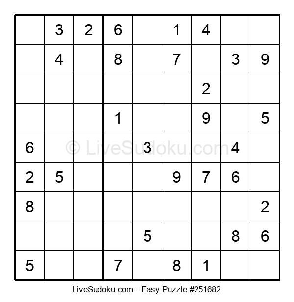 Beginners Puzzle #251682