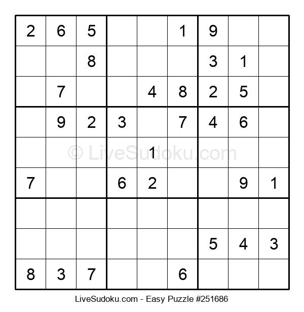 Beginners Puzzle #251686