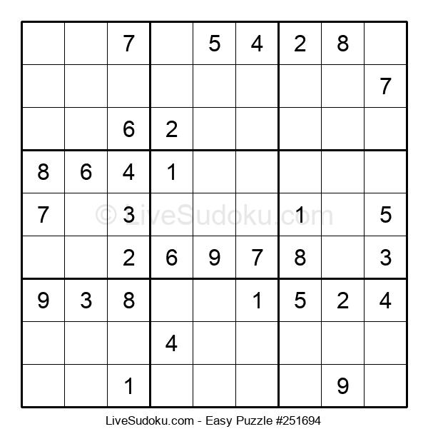 Beginners Puzzle #251694