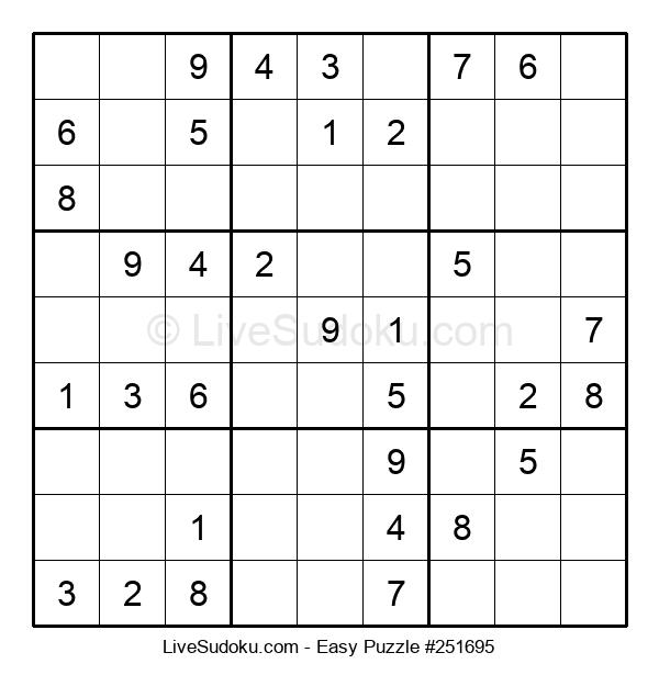Beginners Puzzle #251695