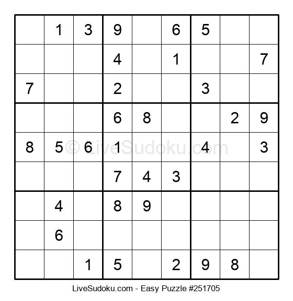 Beginners Puzzle #251705