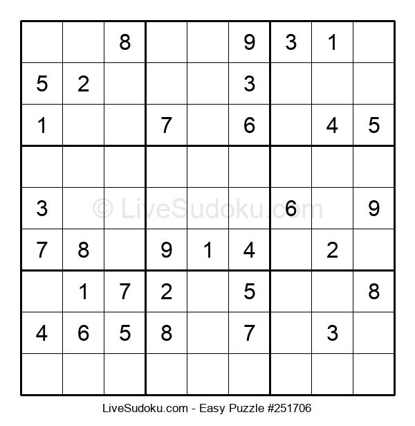Beginners Puzzle #251706