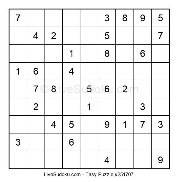 Beginners Puzzle #251707
