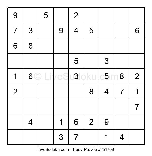 Beginners Puzzle #251708