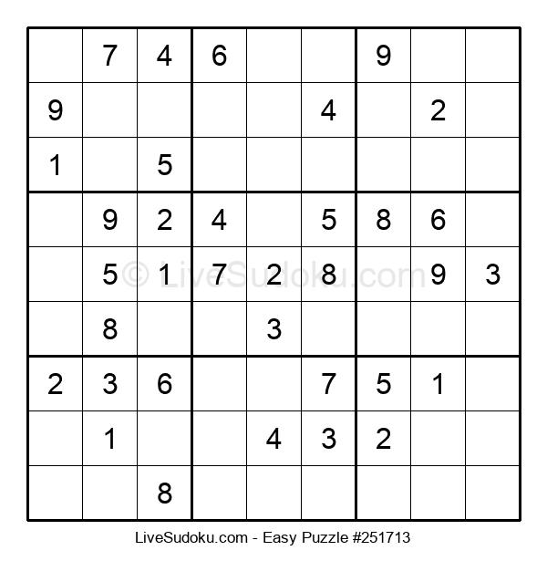 Beginners Puzzle #251713