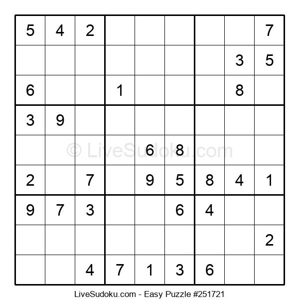 Beginners Puzzle #251721