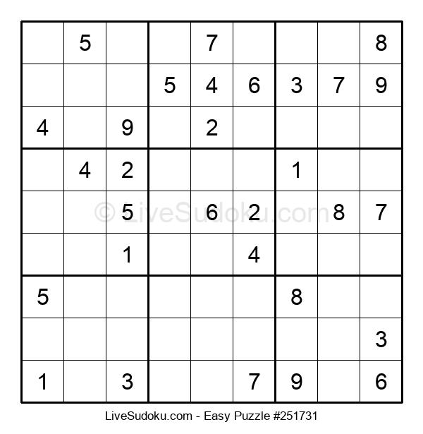Beginners Puzzle #251731