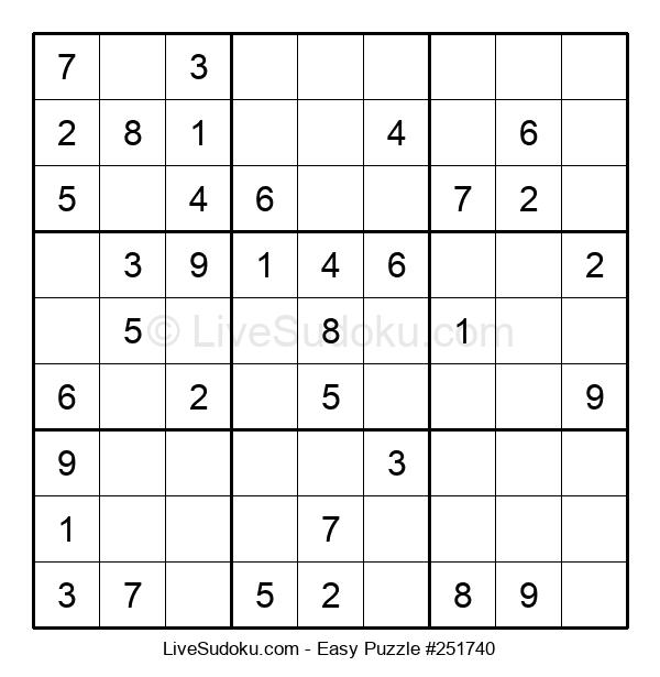 Beginners Puzzle #251740
