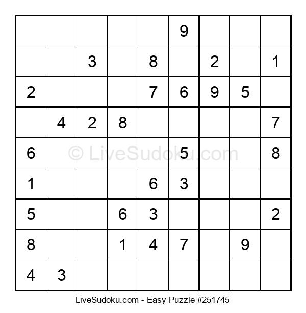 Beginners Puzzle #251745