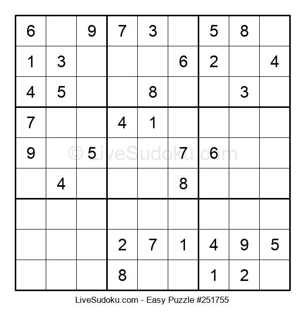 Beginners Puzzle #251755