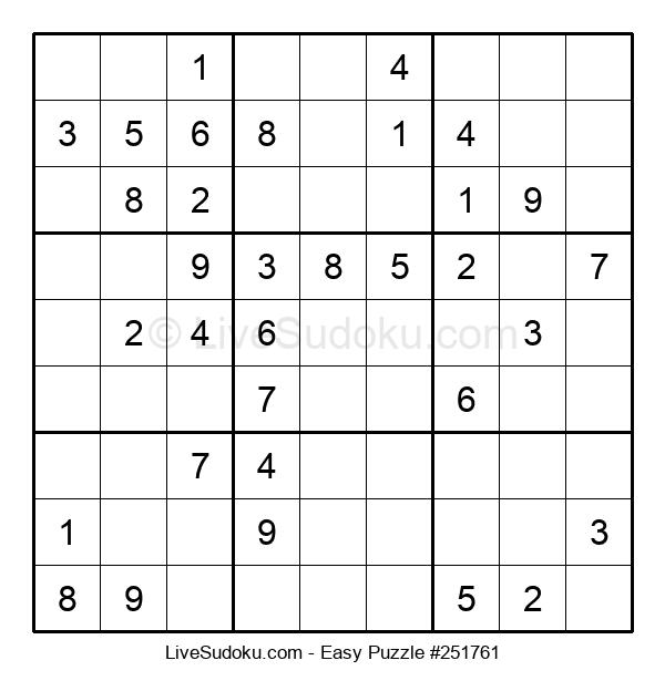 Beginners Puzzle #251761