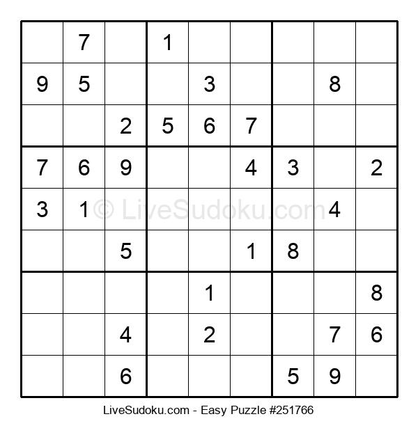 Beginners Puzzle #251766