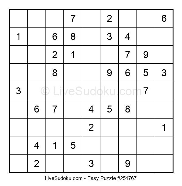 Beginners Puzzle #251767