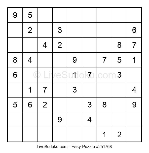 Beginners Puzzle #251768