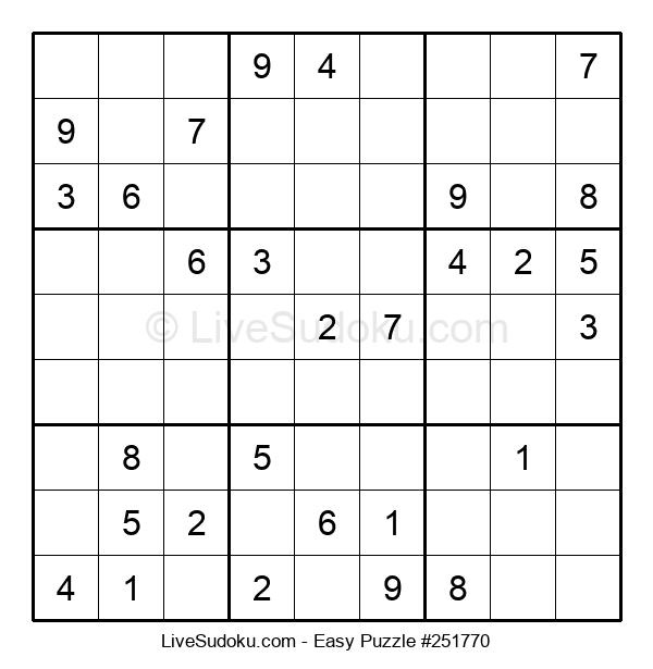 Beginners Puzzle #251770