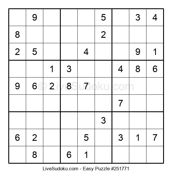 Beginners Puzzle #251771