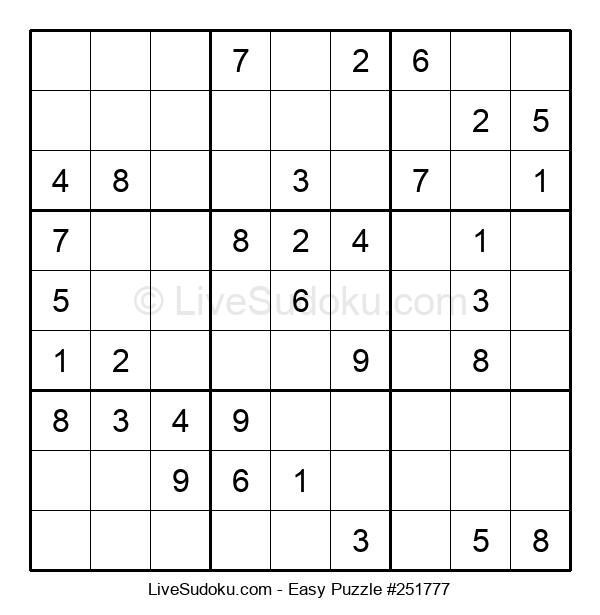 Beginners Puzzle #251777